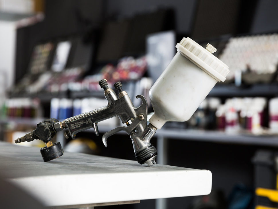 Protect your equipment from corrosion, scratches, peeling, chipping and fading with 2 pack spray paint!